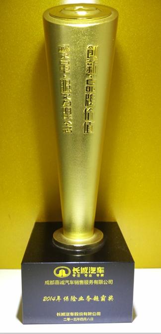 2014年保险业务超霸奖
